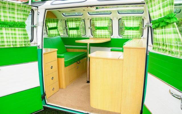 VW Camper Interior Workshop Bus