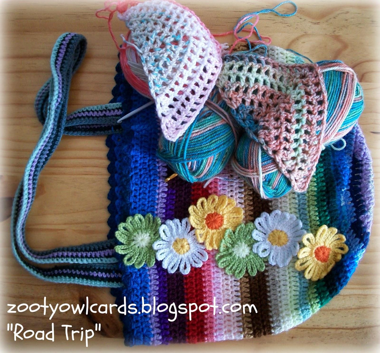 Zooty Owls Crafty Blog: Road Trip Scarves: Pattern