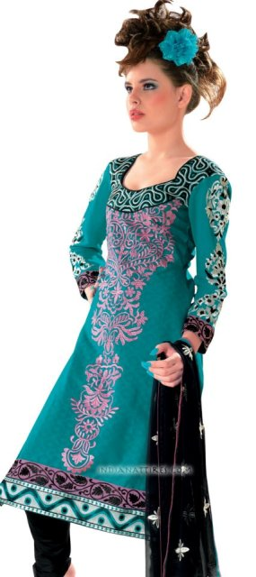 Cotton salwar kameez designs