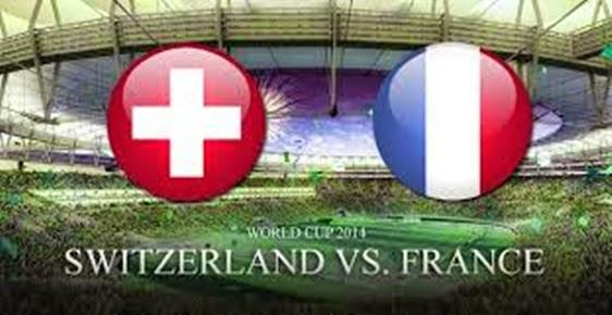 Prediksi Skor Swiss Vs Perancis 21 juni 2014, Piala Dunia