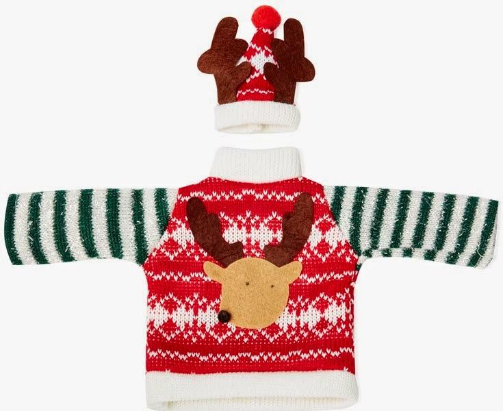 Primark Navidades: ropa para adornar la botella