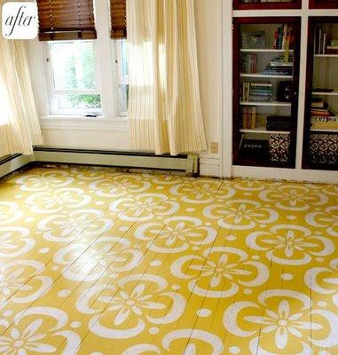 Pintar pisos Diseños