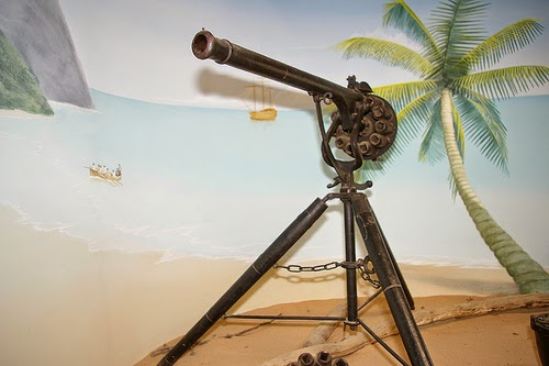 A replica Puckle Gun from Buckler's Hard Maritime Museum