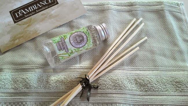 Aroma, Aromatizador de Ambiente, D'Ambiance, Assessoria de Imprensa, Recebido, Resenha, PressKit, Bambu