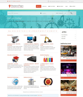 Best and innovative joomla templates and themes online joomla professional joomla business directory template for directory based websites based on light very powerful warp framework offers great flexibility and easy cheaphphosting Image collections