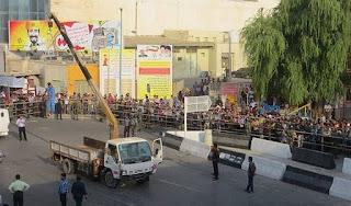 Public execution in Bandar Abbas, Iran on Sept. 1, 2015