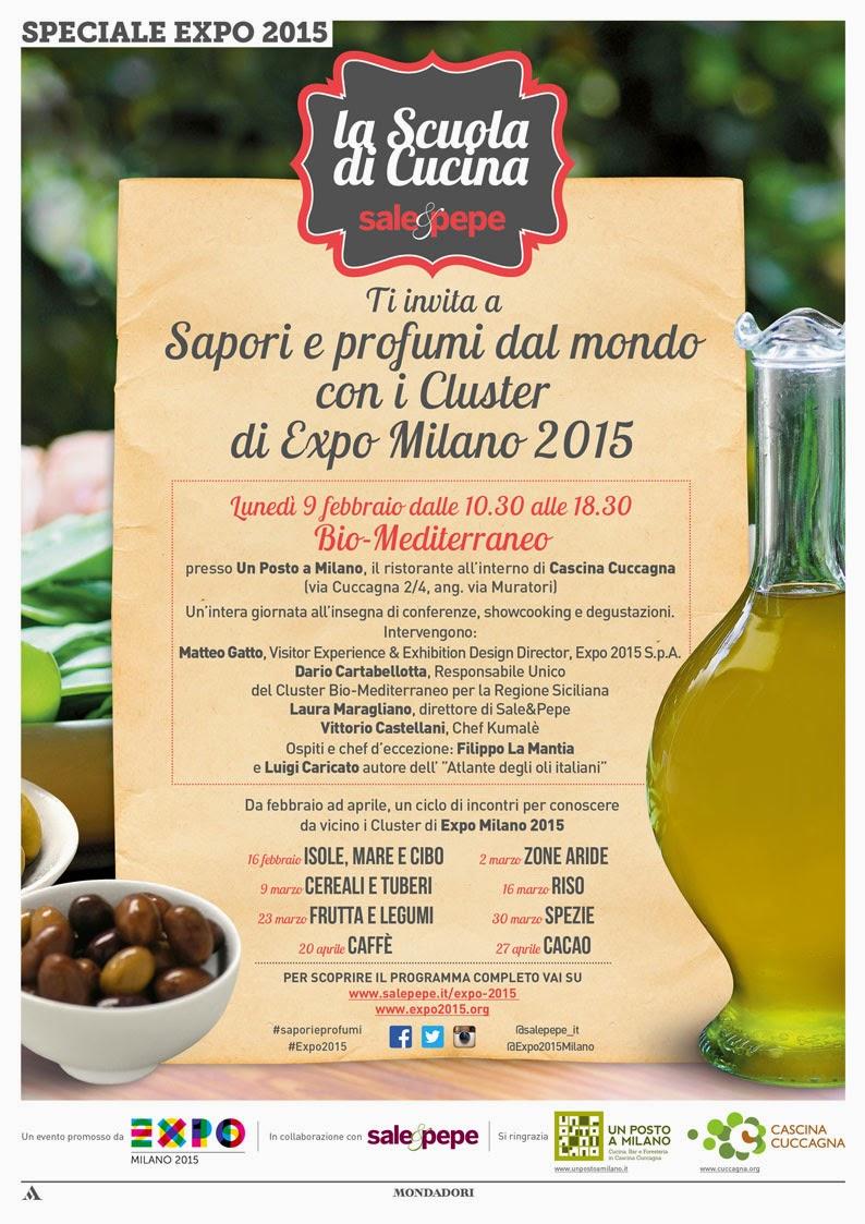 Sapori e profumi dal mondo con la scuola di cucina Sale&pepe  dal 9 al 27 Febbraio Milano