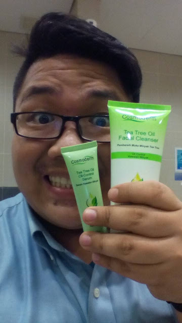 Review Produk | Cosmoderm Tea Tree oil-Control Serum
