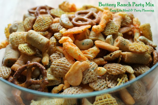 Buttery Ranch Party Mix by Easy Life Meal & Party Planning