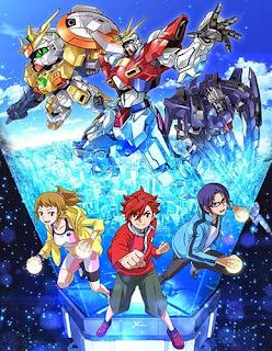 assistir - Gundam Build Fighters Try - online