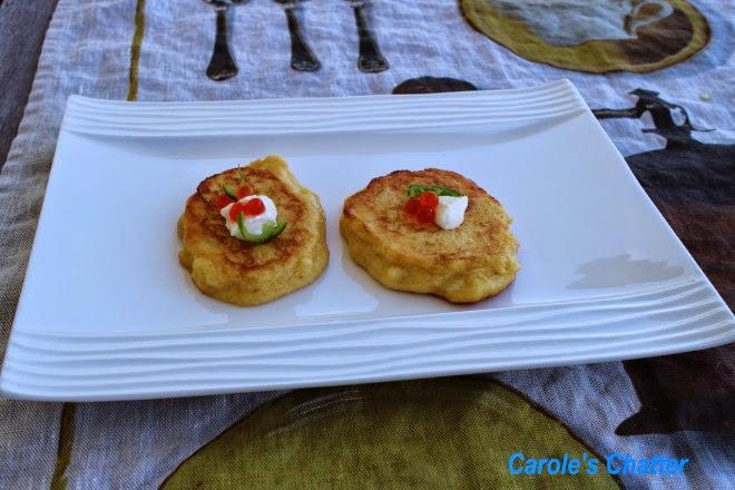 Potato pancakes by Carole's Chatter