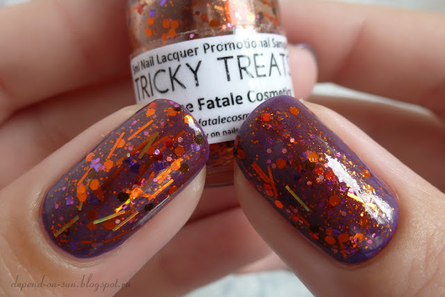 Femme fatale cosmetics Tricky treats