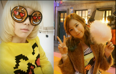 SNSD TAEYEON NEW SELCA PHOTO 2013