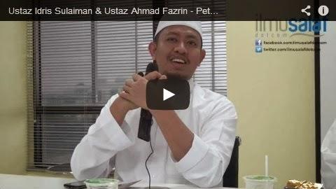 Ustaz Idris Sulaiman & Ustaz Ahmad Fazrin Yahaya – Petua Mimpi Bertemu Nabi & Hukum Menyebarkan Mimpi Tersebut