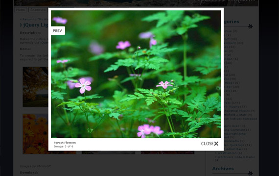 lightbox-native-gallery-wordpress-jquery-plugin