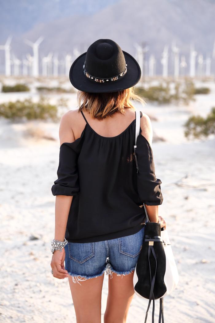 Coachella 2015 outfit, coachella denim shorts, coachella isabel marant