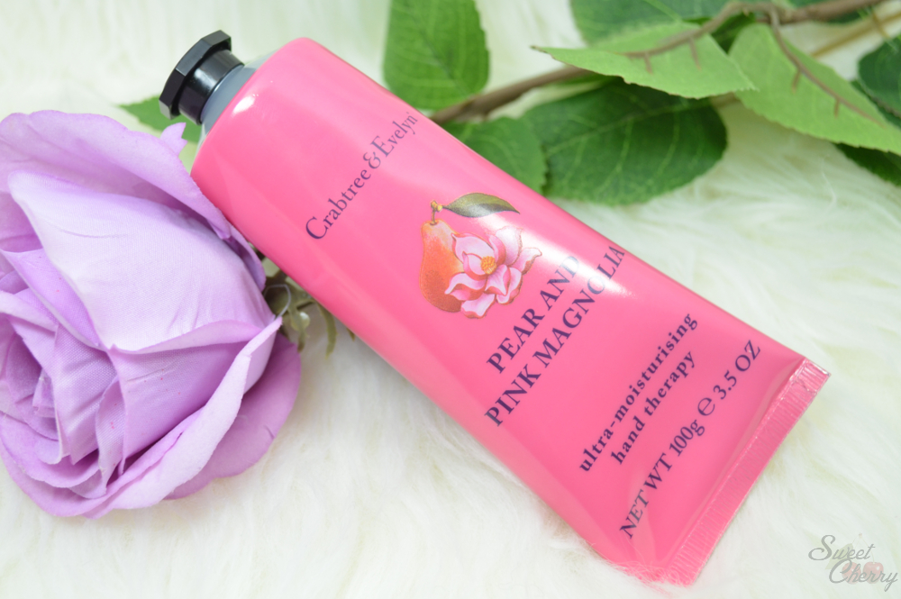 review geschenktipp crabtree evelyn pear and pink magnolia luxury essentials geschenkset. Black Bedroom Furniture Sets. Home Design Ideas