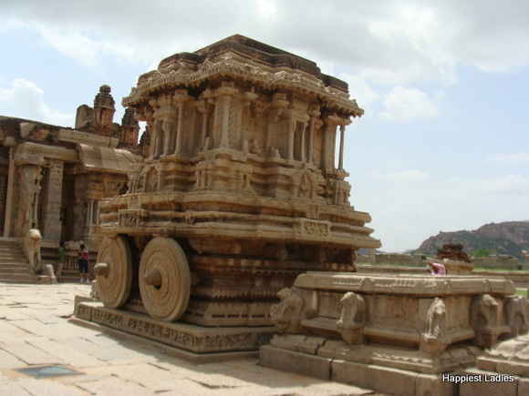 Stone Chariot Vittala Temple Hampi