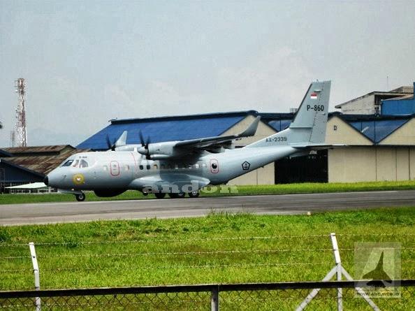 Pesawat CN235 MPA Resmi dioperasikan TNI-AL