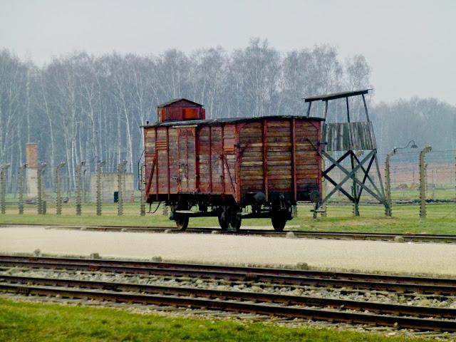 Birkenau, vagón de prisioneros