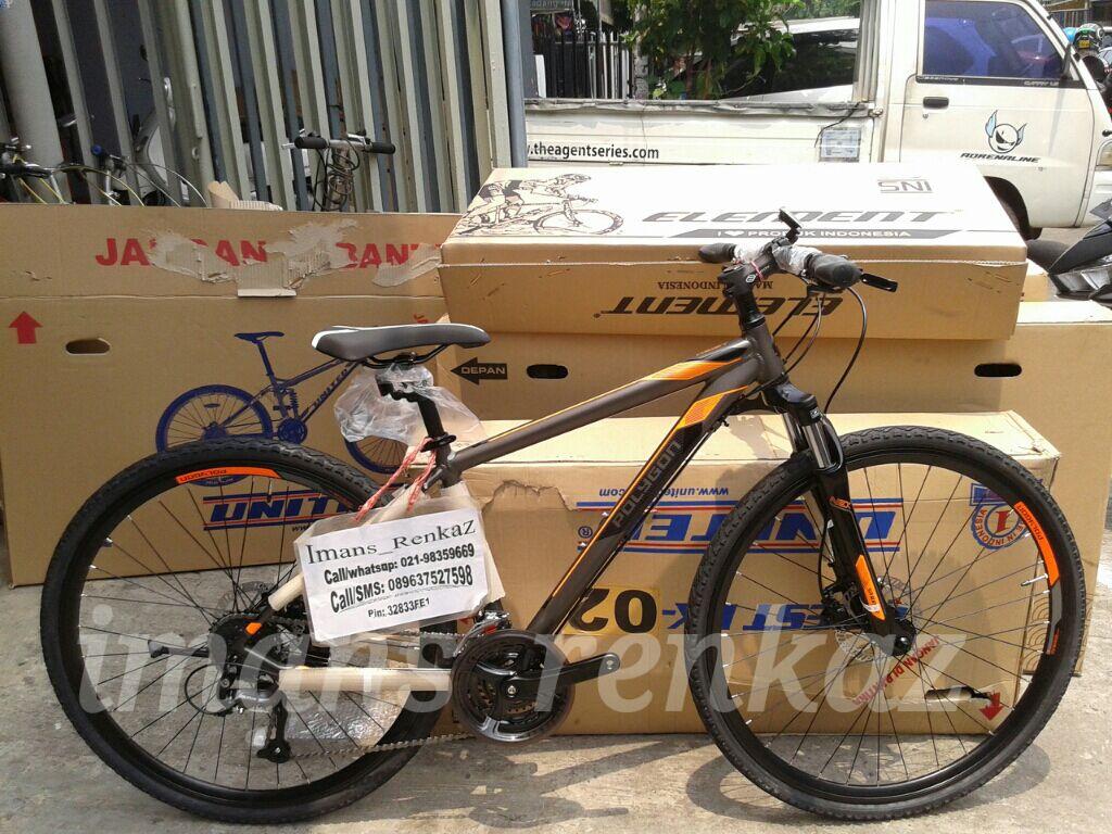 Sepeda Hybrid Polygon Heist 2