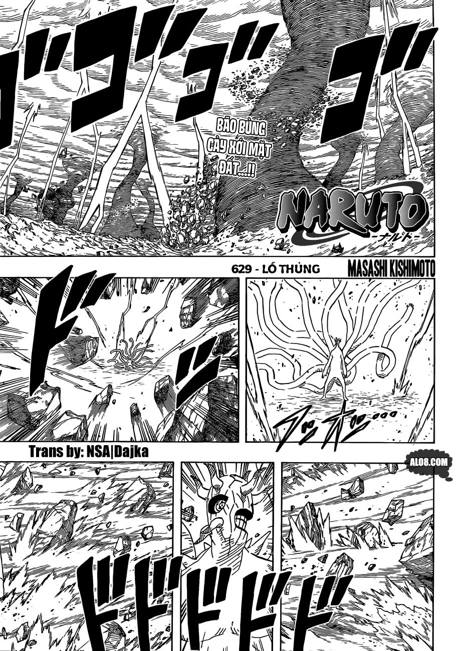 Naruto chap 629 Trang 1 - Mangak.info