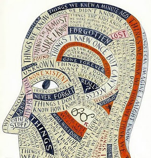 head with thoughts, thoughts, writings, stories