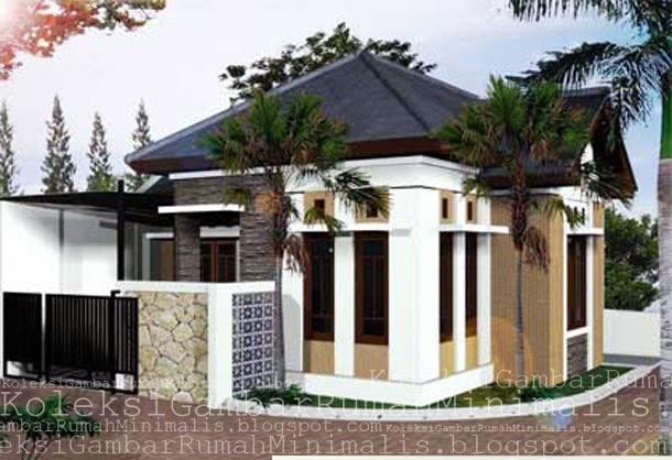 contoh rumah sederhana yang asri dan nyaman desain rumah