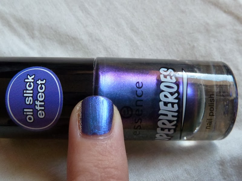 Essence superheroes nail polish oil stick effect