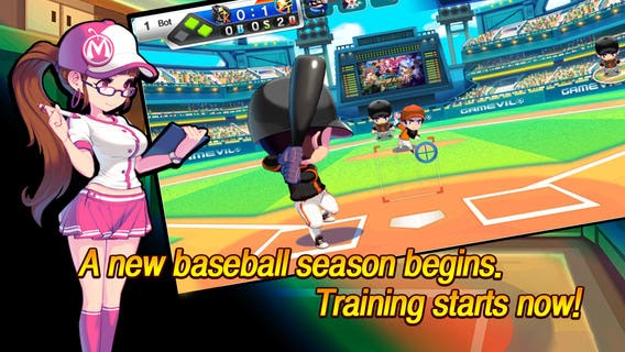 Baseball Superstars 2013 Game for iPhone and iPad