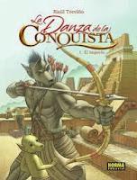 La danza de la conquista 1 El imperio,Raúl Treviño,Norma Editorial  tienda de comics en México distrito federal, venta de comics en México df