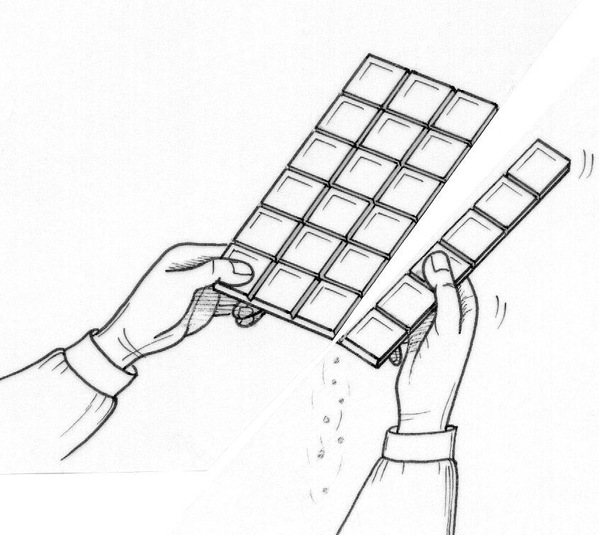 Menta m s chocolate recursos y actividades para educaci n infantil dibujos para colorear de - Dessin tablette chocolat ...
