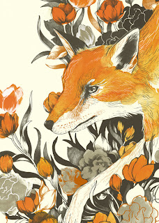 Ilustración de un zorro