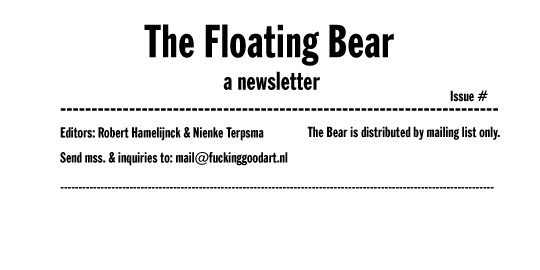 The Floating Bear