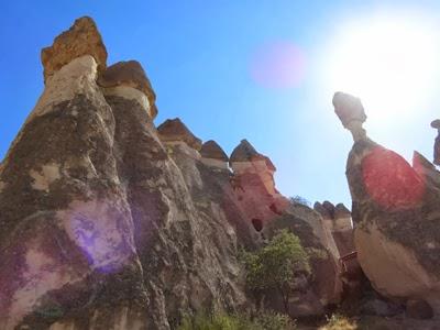 カッパドキアのキノコ岩