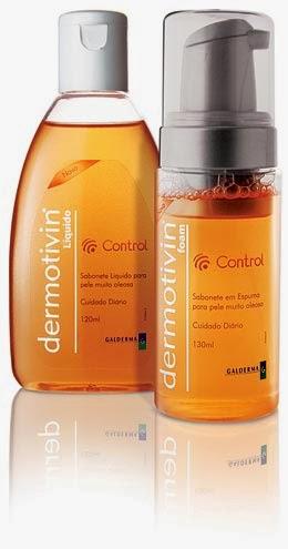 Sabonete facial Dermotivin Control