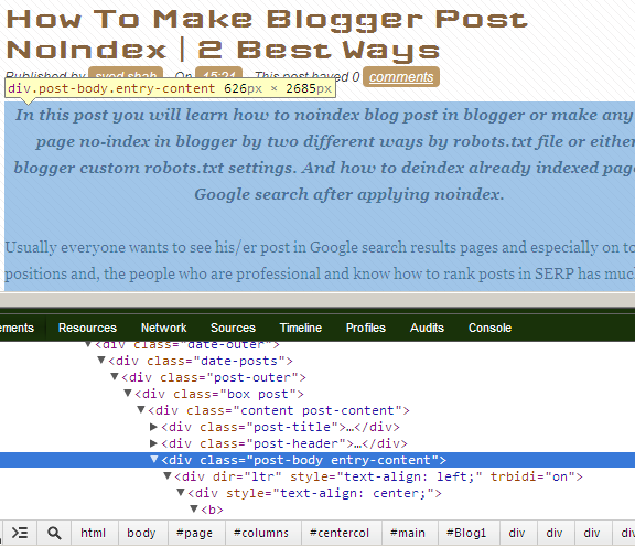 change link color blogger blogspot