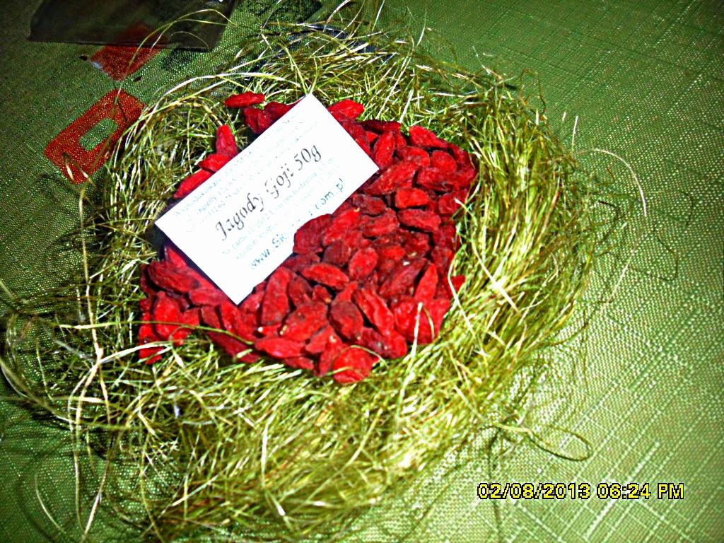 Kraina kwiat w i smak w wybieram zdrowie wi c jem jagody for Jagody goji w tabletkach