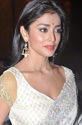 Splendid gorgeous Sweet shriya at chandra audio launch in a hotal