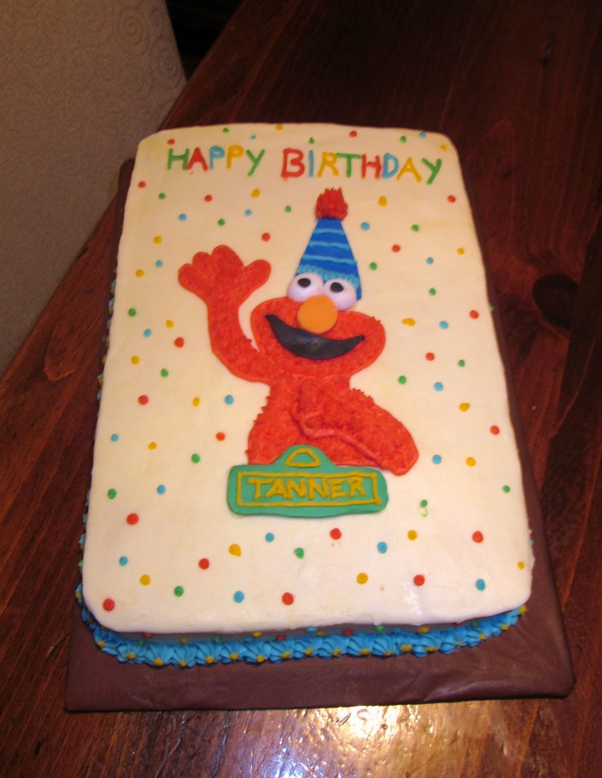 Second Generation Cake Design Elmo Birthday Cake