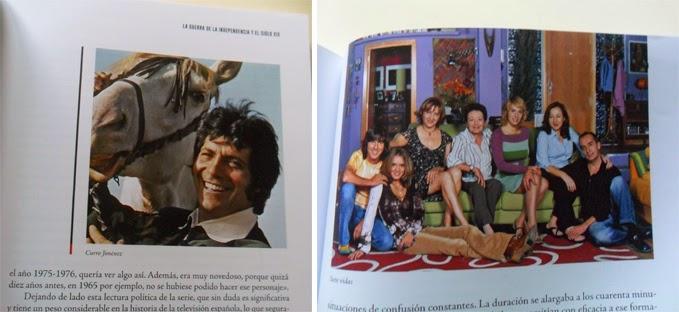 Material gráfico de Curro Jiménez y Siete Vidas, TVE, Telecinco, series, España en serie