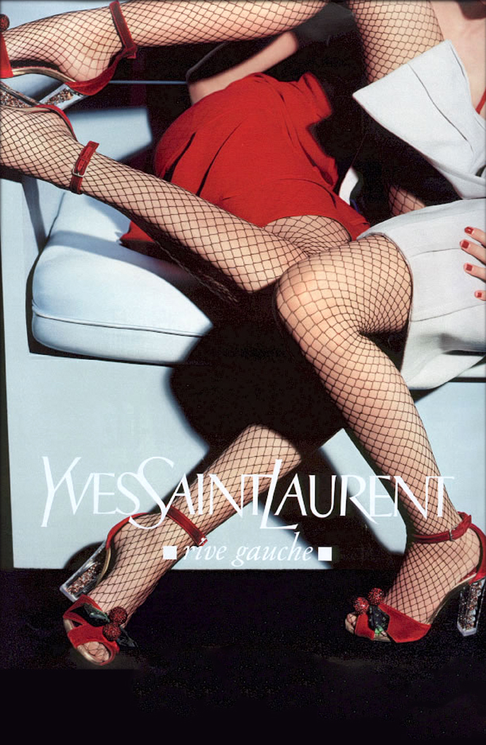 Yves Saint Laurent Fall/Winter 2003 campaign (photography: Craig McDean)