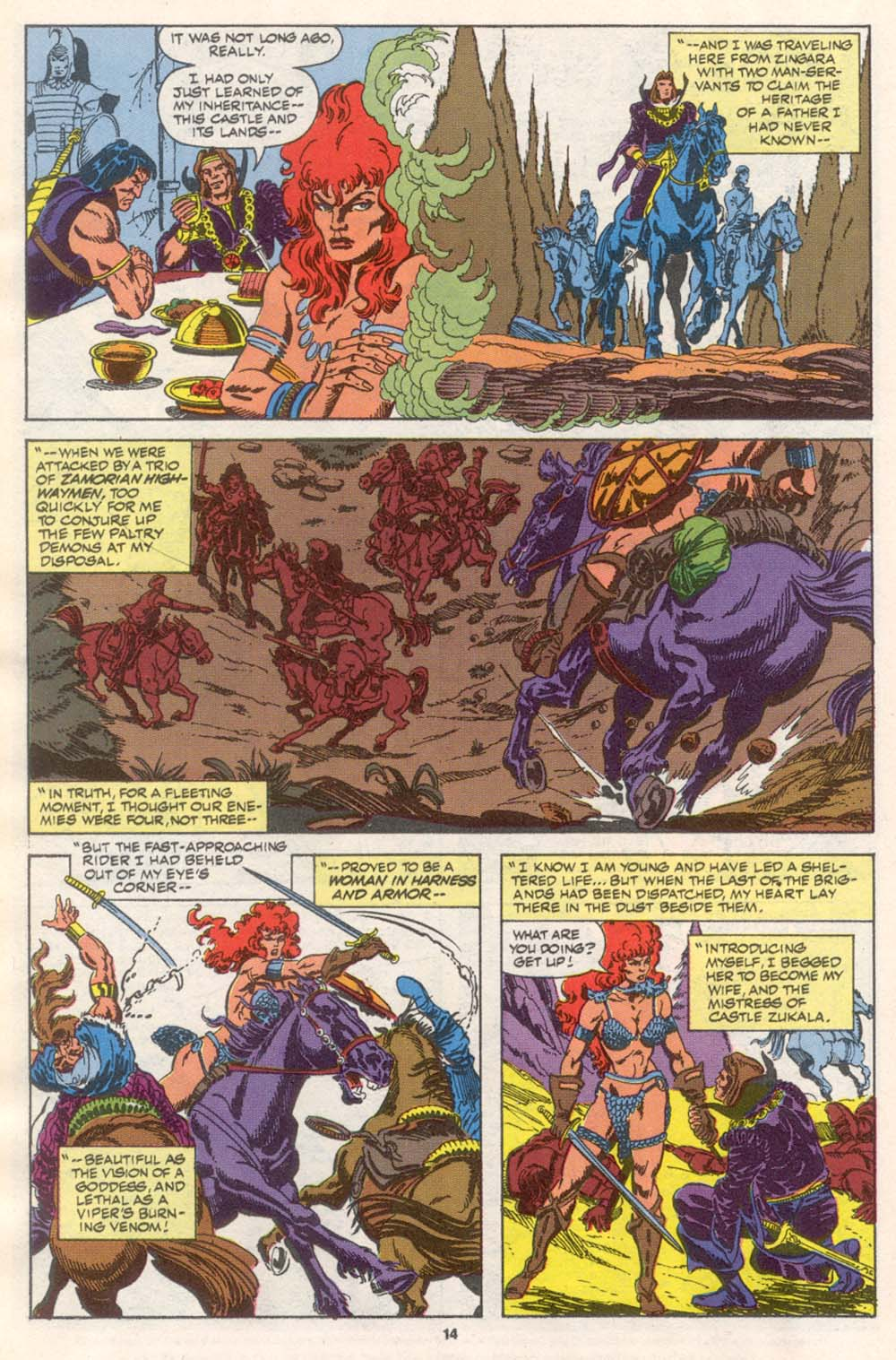 Conan the Barbarian (1970) Issue #242 #254 - English 11