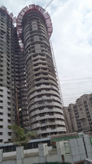 Ceyane Tower :: Construction Status on April 2014