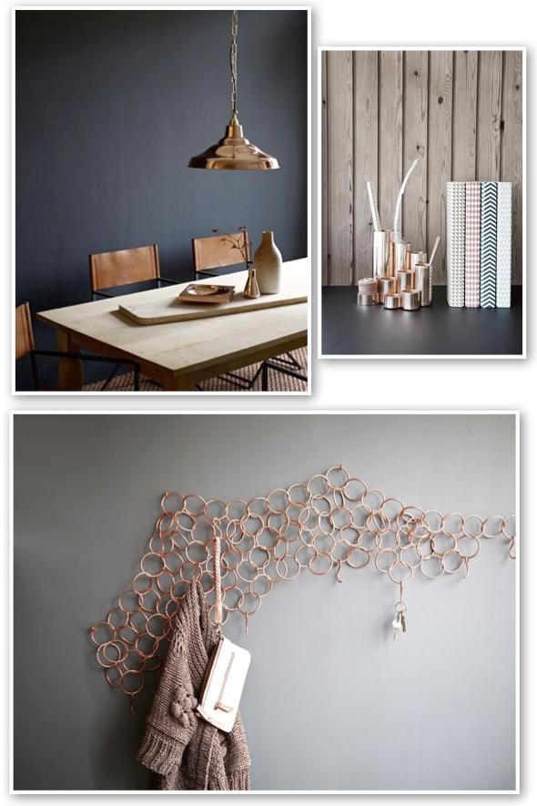 Red address: Tendenze - Copper design