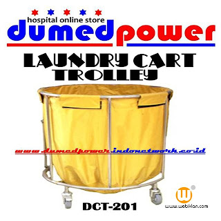 "Hospital Loundry Cart Trolley DCT-201 ""DumedPower"""