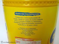 Cacao soluble Mister Choc de Lidl fabricado por Ibercacao