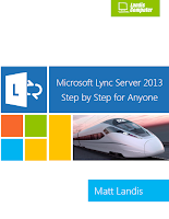 Microsoft Lync Server 2013 Step By Step for Anyone eBook cover