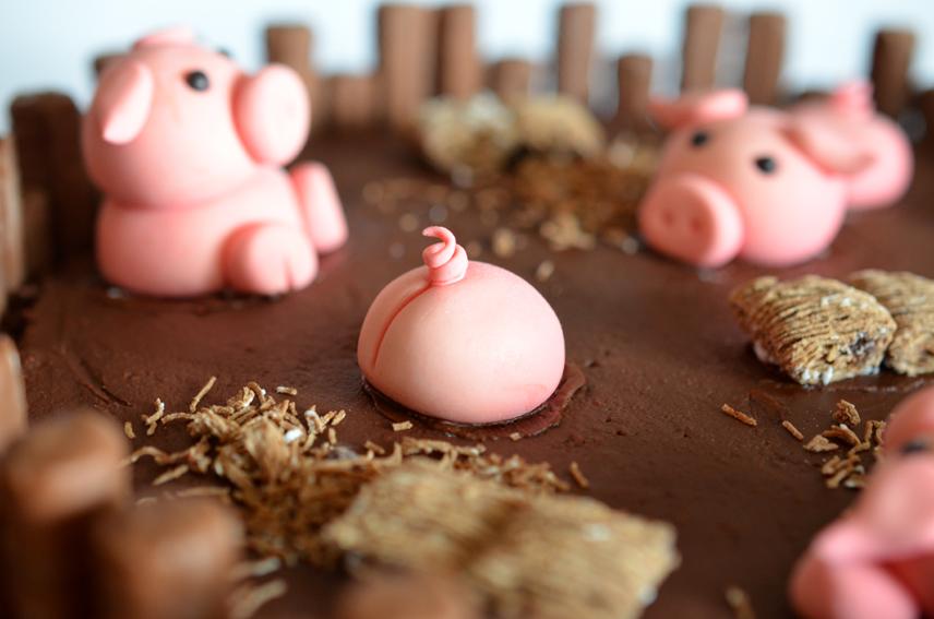 Kuchen braucht kein schwein