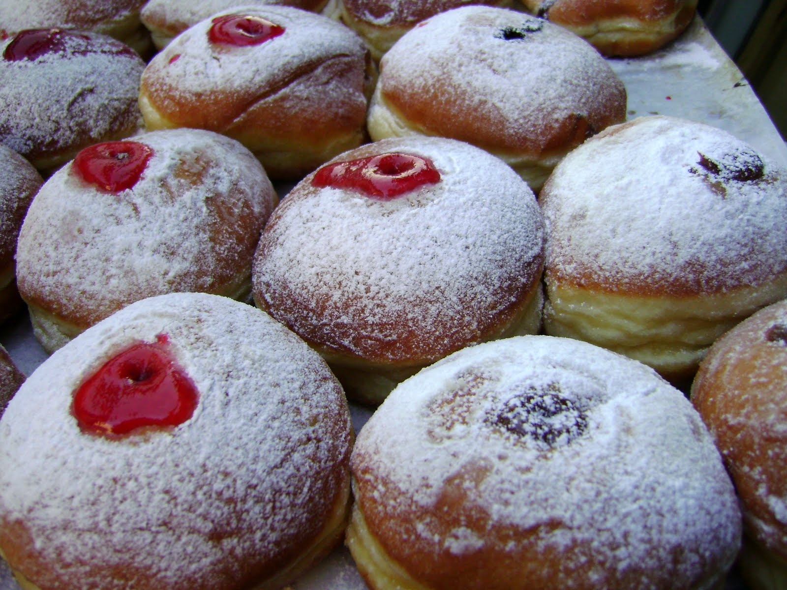 Cooking outside the box israeli treats crembo sufganiot and lots